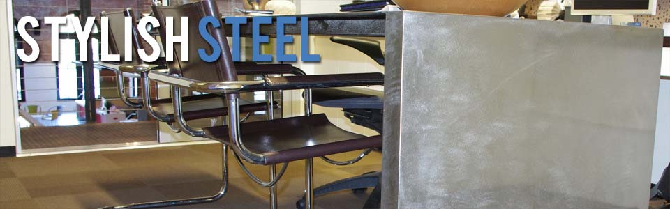 award winning steel desk