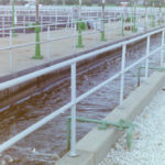 Aluminum wastewater treatment plant railngs 2