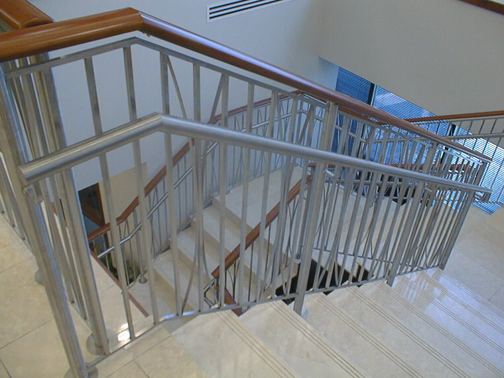 Stainless Steel fabrication: railings, panels, and cladding ...