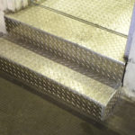 Welded-Checkerplate-Steps