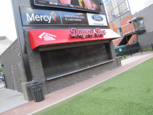 Stainless Countertop at the Dugout Bar in Ballpark Village